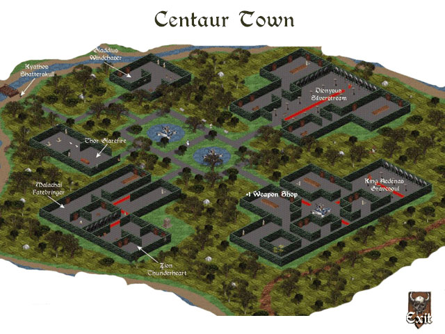 """Centaurs Town (Old)"""